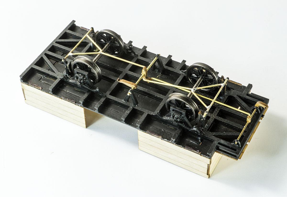 PKB34 mit Bremsgestänge